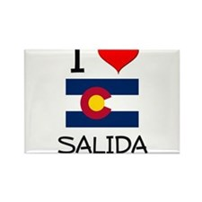 I Love Salida Colorado Magnets