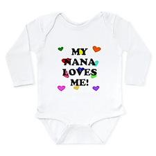 My Nana Loves Me Body Suit