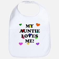 My Auntie Loves Me Bib