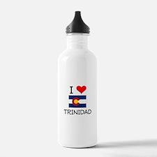 I Love Trinidad Colorado Water Bottle
