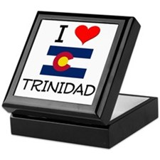 I Love Trinidad Colorado Keepsake Box