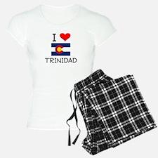 I Love Trinidad Colorado Pajamas