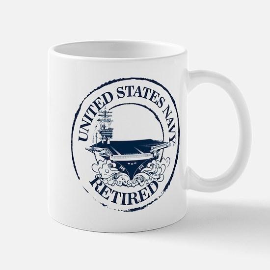 U.S. Navy Retired (Carrier) Mug