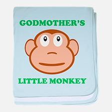 Godmothers Little Monkey baby blanket