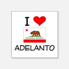 I Love Adelanto California Sticker