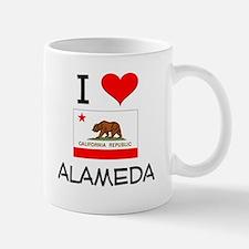 I Love Alameda California Mugs