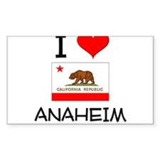 I Love Anaheim California Decal