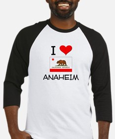 I Love Anaheim California Baseball Jersey