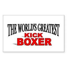 """The World's Greatest Kick Boxer"" Decal"
