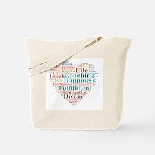 Coaching Wordart Tote Bag
