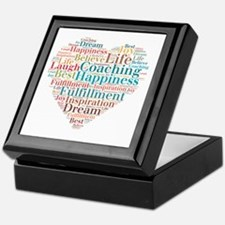 Coaching Wordart Keepsake Box