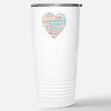 Coaching Wordart Travel Mug