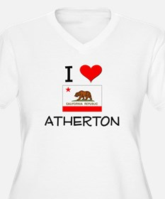 I Love Atherton California Plus Size T-Shirt