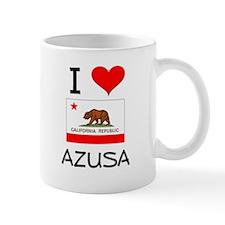 I Love Azusa California Mugs