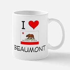 I Love Beaumont California Mugs