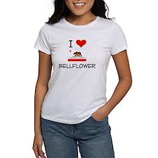 I Love Bellflower California T-Shirt