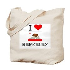 I Love Berkeley California Tote Bag