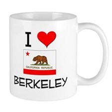 I Love Berkeley California Mugs