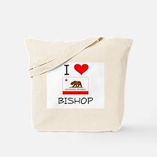 I Love Bishop California Tote Bag