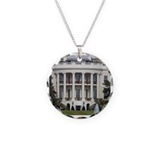 White House at Christmas Necklace