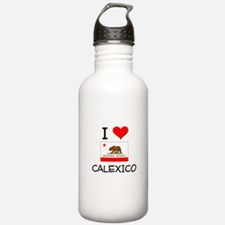 I Love Calexico California Water Bottle