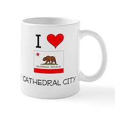 I Love Cathedral City California Mugs