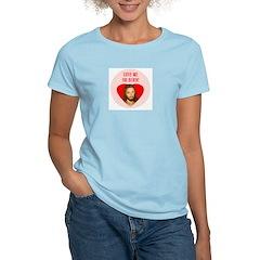 Love Me Or Burn! Women's Pink T-Shirt