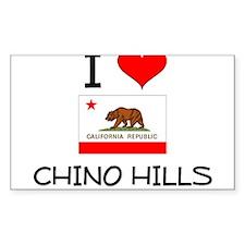 I Love Chino Hills California Decal