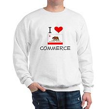 I Love Commerce California Sweatshirt