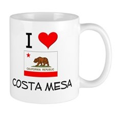I Love Costa Mesa California Mugs