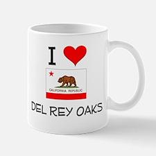 I Love Del Rey Oaks California Mugs