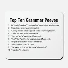 Grammar Peeves Mousepad