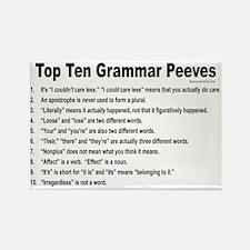 Grammar Peeves Rectangle Magnet (10 pack)
