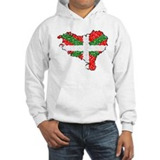 Basque Country Pointillized Hoodie