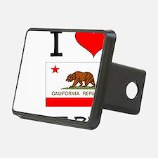 I Love Fort Bragg California Hitch Cover