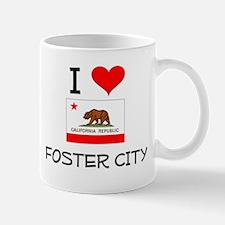 I Love Foster City California Mugs