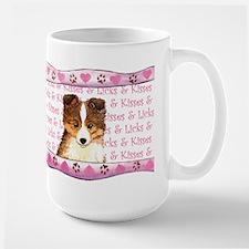Sheltie Valentine Mug