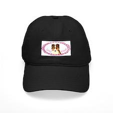 Sheltie Valentine Baseball Hat