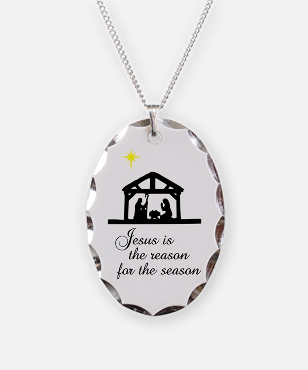 Jesus Is The Reason Nativity S Necklace