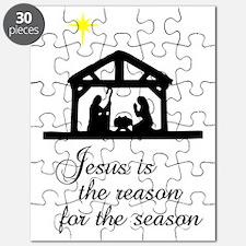 Jesus Is The Reason Nativity Scene Puzzle