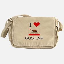 I Love Gustine California Messenger Bag