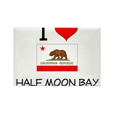I Love Half Moon Bay California Magnets