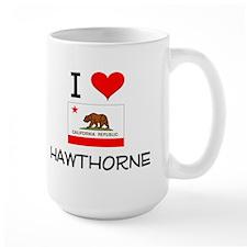 I Love Hawthorne California Mugs