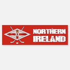 Northern Ireland Ice Hockey Bumper Bumper Bumper Sticker