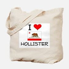 I Love Hollister California Tote Bag