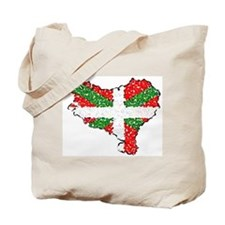 Basque Country Pointillized Tote Bag