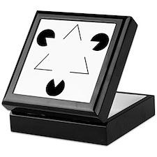 Kanizsa Triangle Keepsake Box