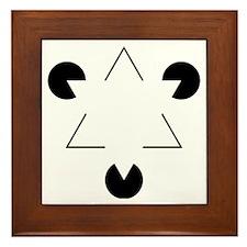 Kanizsa Triangle Framed Tile