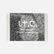 ITC instrumental transcommuni Rectangle Magnet