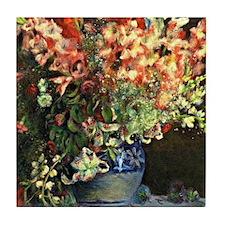 Renoir: Gladiolas in a Vase Tile Coaster